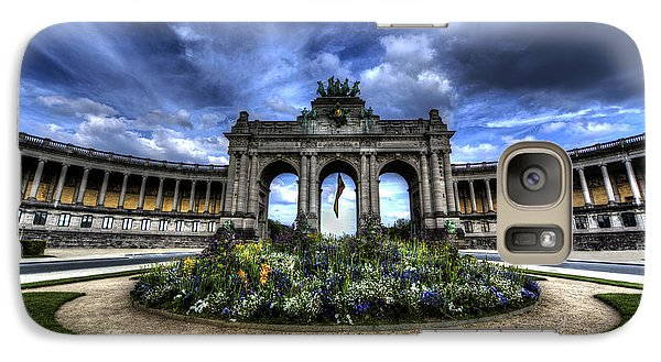 Galaxy Case featuring the photograph Brussels Parc Du Cinquantenaire by Shawn Everhart