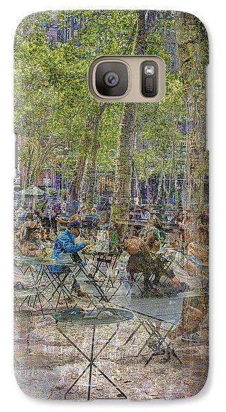 Bryant Park Collage 2 Galaxy S7 Case