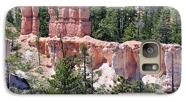 Galaxy Case featuring the photograph Bryce Canyon Backcountry by Bruce Gourley