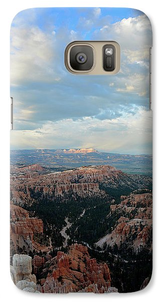 Galaxy Case featuring the photograph Bryce Canyon Skyview by Bruce Gourley