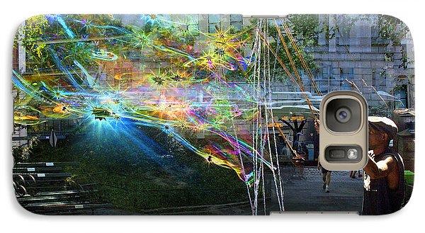 Bubble Maker Collage 1 Galaxy S7 Case