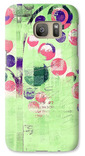 Galaxy Case featuring the photograph Bubble Tree - 224c33j5r by Variance Collections