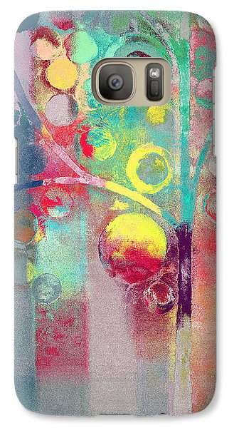 Galaxy Case featuring the painting Bubble Tree - 285l by Variance Collections
