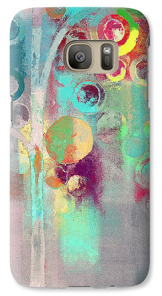 Galaxy Case featuring the digital art Bubble Tree - 285r by Variance Collections