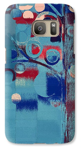 Galaxy Case featuring the painting Bubble Tree - 85e-j4 by Variance Collections