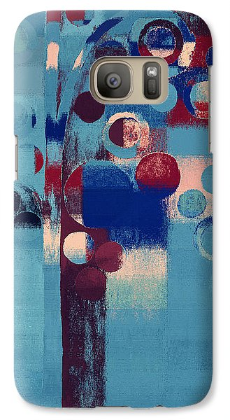 Galaxy Case featuring the painting Bubble Tree - 85l-j4 by Variance Collections