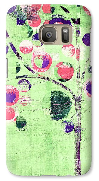 Galaxy Case featuring the digital art Bubble Tree - 224c33j5l by Variance Collections