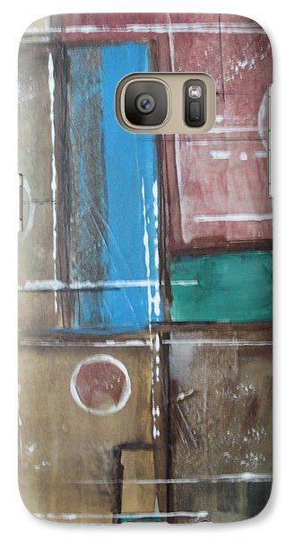 Galaxy Case featuring the painting Bubbles In The Air by Sharyn Winters