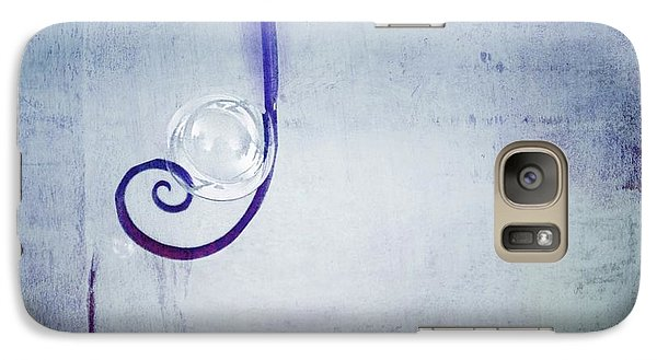 Galaxy Case featuring the digital art Bubbling - 033a by Variance Collections