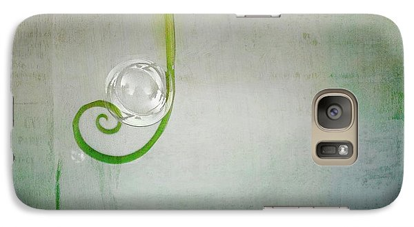 Galaxy Case featuring the digital art Bubbling -  S24aabbcc by Variance Collections