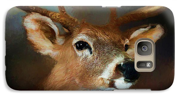 Galaxy Case featuring the photograph Buck by Darren Fisher