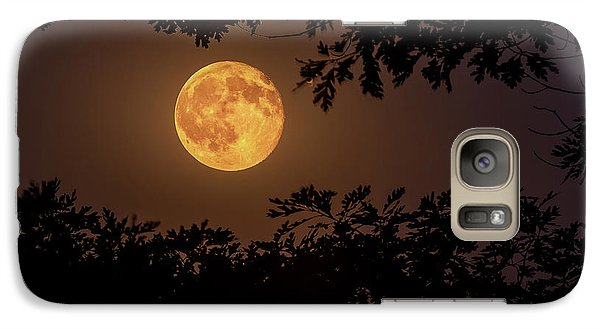 Galaxy Case featuring the photograph Buck Moon 2016 by Everet Regal