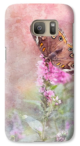 Galaxy Case featuring the photograph Buckeye Bliss by Betty LaRue