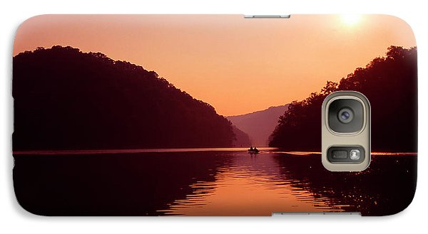 Galaxy Case featuring the photograph Buckhorn Lake Sunset by Thomas R Fletcher