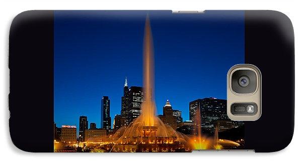 Buckingham Fountain Nightlight Chicago Galaxy S7 Case
