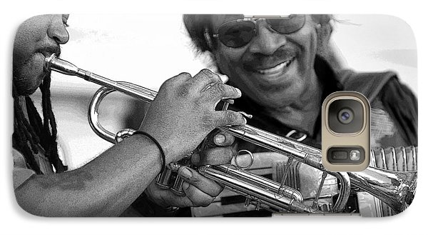 Galaxy Case featuring the photograph Buckwheat Zydeco by Jim Mathis