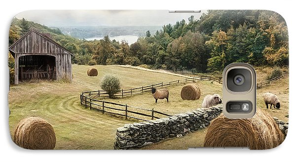 Galaxy Case featuring the photograph Bucolic by Robin-Lee Vieira