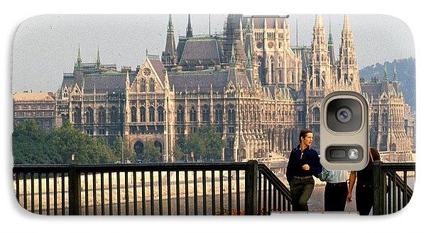 Galaxy Case featuring the photograph Budapest Parliamenet by Erik Falkensteen