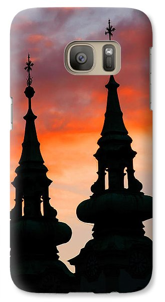 Galaxy Case featuring the photograph Budapest Sunset by KG Thienemann