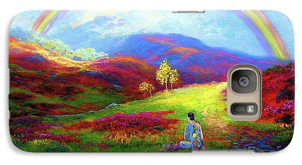 Buddha Chakra Rainbow Meditation Galaxy S7 Case
