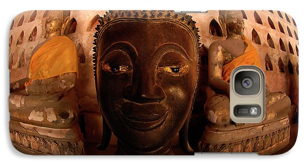 Galaxy Case featuring the photograph Buddha Laos 1 by Bob Christopher
