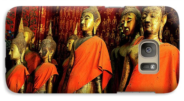 Galaxy Case featuring the photograph Buddha Laos 2 by Bob Christopher