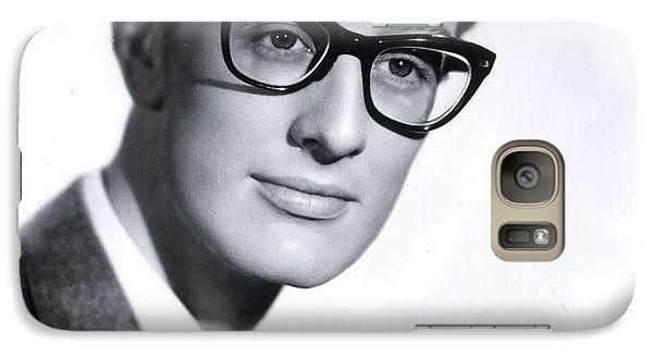 Cricket Galaxy S7 Case - Buddy Holly by The Titanic Project