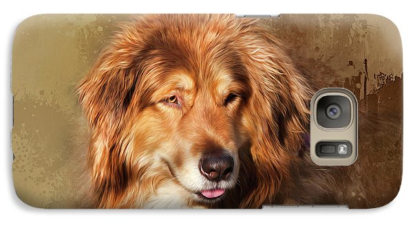 Galaxy Case featuring the photograph Buddy by Theresa Tahara