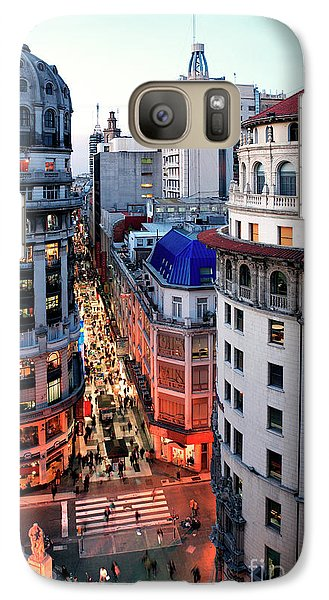 Galaxy Case featuring the photograph Buenos Aires Street I by Bernardo Galmarini