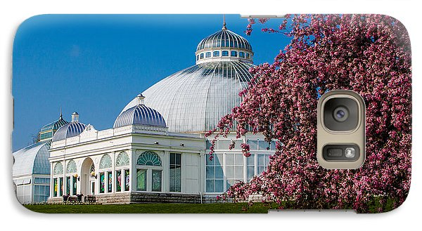 Galaxy Case featuring the photograph Buffalo Botanical Gardens North Lawns by Don Nieman