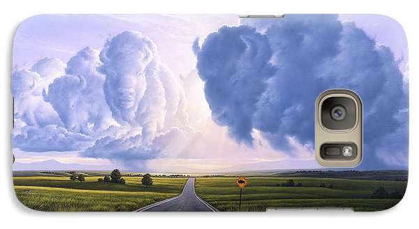 Buffalo Galaxy S7 Case - Buffalo Crossing by Jerry LoFaro