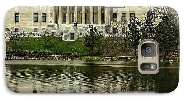 Galaxy Case featuring the photograph Buffalo Historical Society And Library by Don Nieman