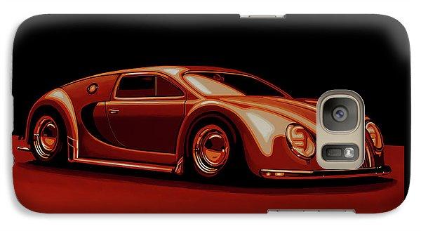 Beetle Galaxy S7 Case - Bugatti Veyron 'beetgatti' 1945 Painting by Paul Meijering
