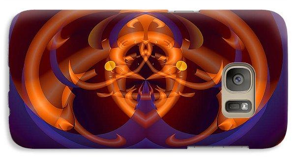 Galaxy Case featuring the digital art Bugged by Lynda Lehmann