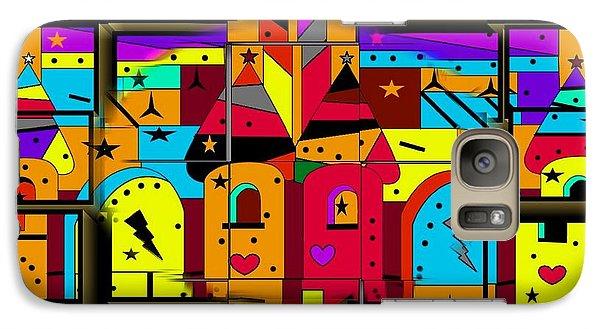 Galaxy Case featuring the digital art Build Your Fairytale World By Nico Bielow by Nico Bielow