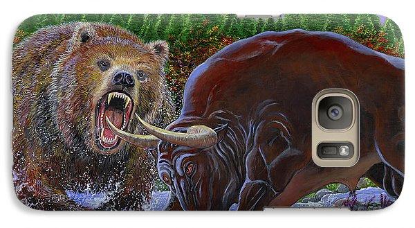 Bull And Bear Galaxy S7 Case