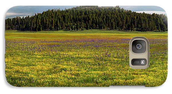 Galaxy Case featuring the photograph Bull Prairie by Leland D Howard