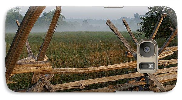 Galaxy Case featuring the photograph Bull Run Virginia by Heidi Poulin