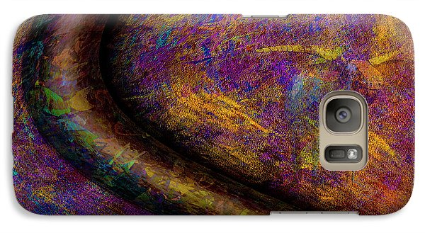 Galaxy Case featuring the photograph Bull Rust by Paul Wear