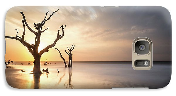 Bull Galaxy S7 Case - Bulls Island Sunrise by Ivo Kerssemakers