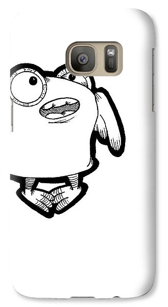 Galaxy Case featuring the digital art Buma by Uncle J's Monsters
