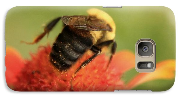 Galaxy Case featuring the photograph Bumblebee by Chris Berry