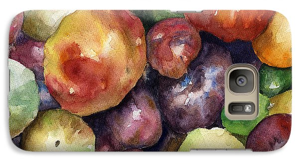 Galaxy Case featuring the painting Bumper Crop Of Heirlooms by Anne Gifford