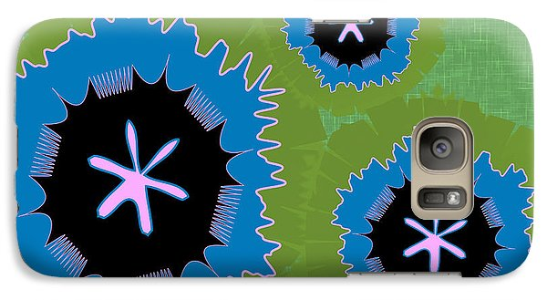 Galaxy Case featuring the digital art Bunny Flower by Kevin McLaughlin