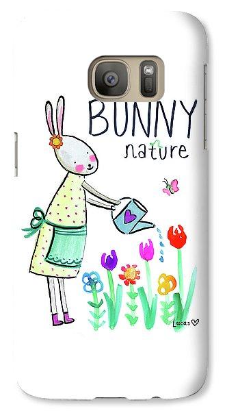 Bunny Nature Galaxy S7 Case