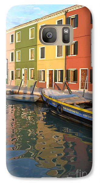 Galaxy Case featuring the photograph Burano Italy 1 by Rebecca Margraf