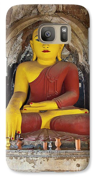 Galaxy Case featuring the photograph Burma_d1150 by Craig Lovell