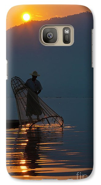 Galaxy Case featuring the photograph Burma_d143 by Craig Lovell