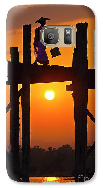 Galaxy Case featuring the photograph Burma_d807 by Craig Lovell