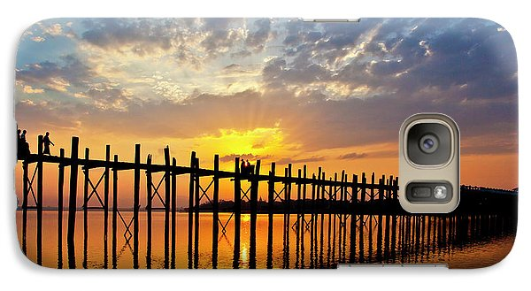 Galaxy Case featuring the photograph Burma_d819 by Craig Lovell